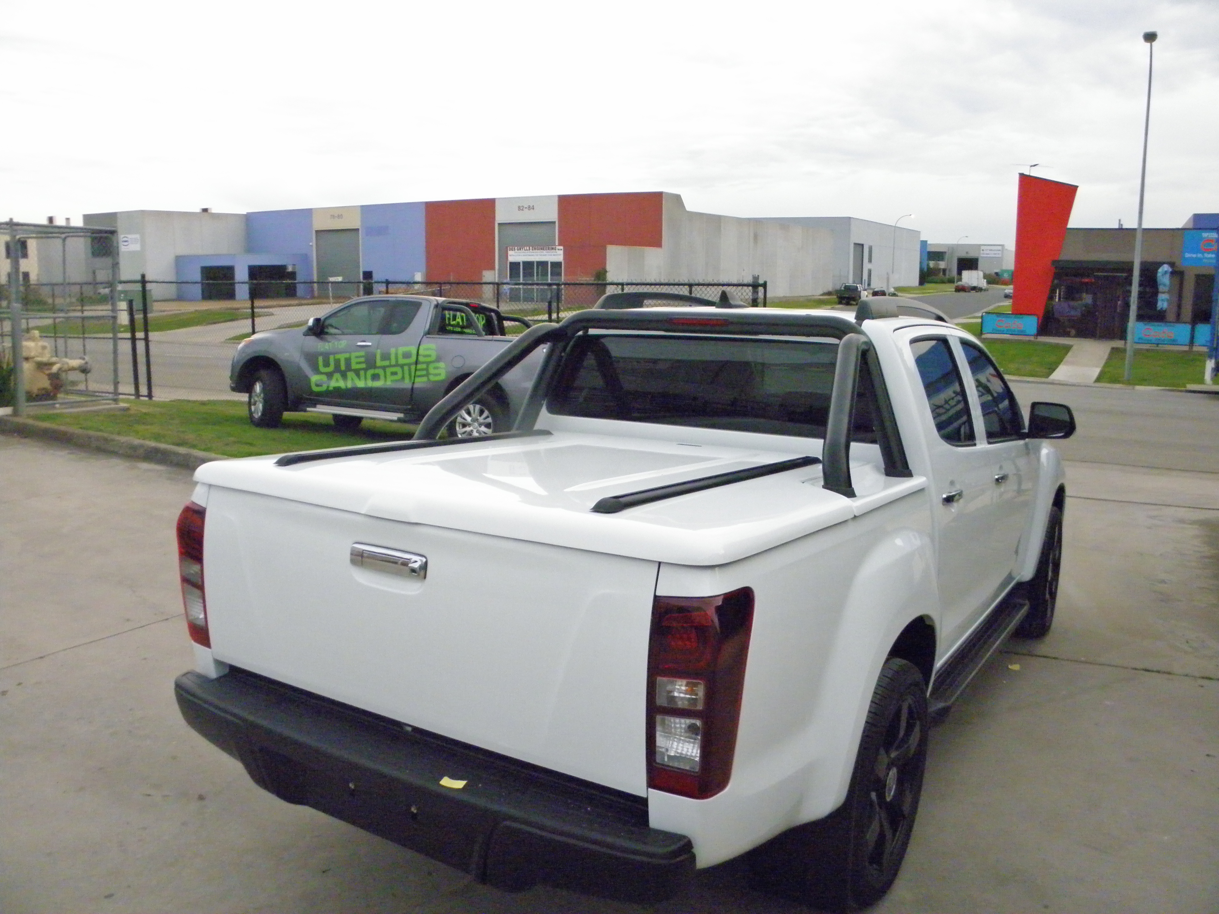 Holden Colorado Hard Lid