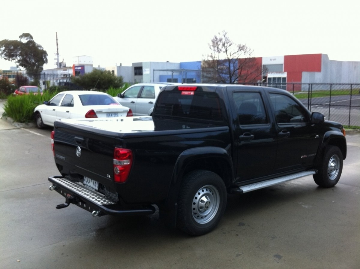 Holden-Rodeo Colorado RC /Isuzu Dmax Double Cab Flat Top ...