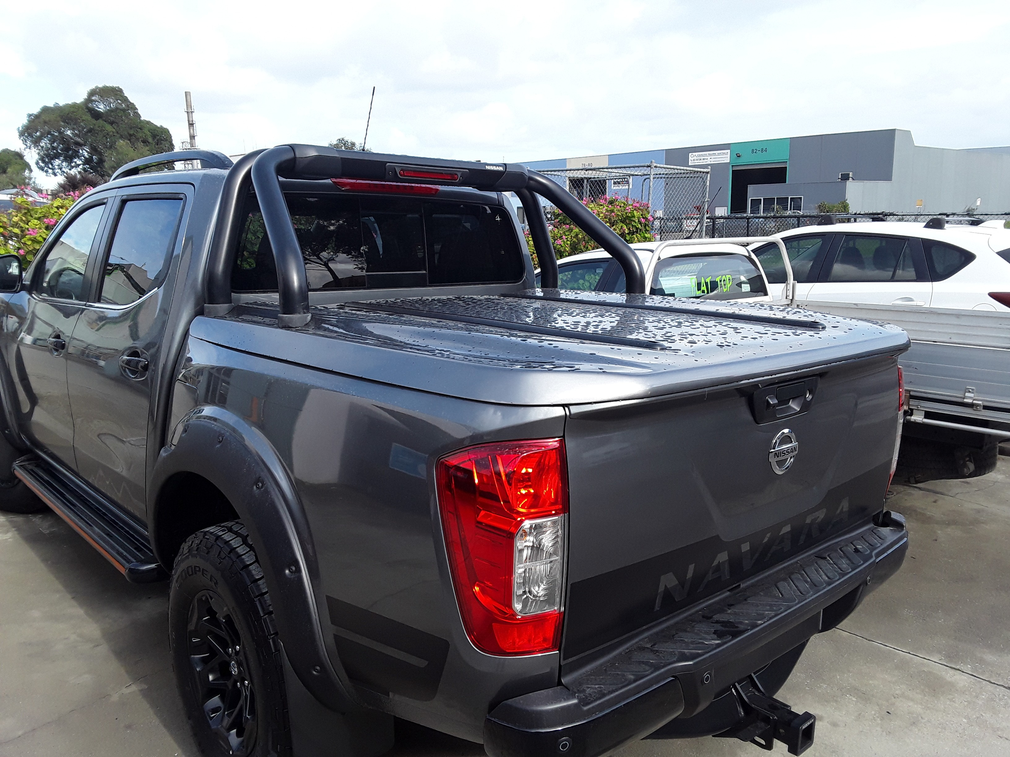 Nissan warrior ute lid