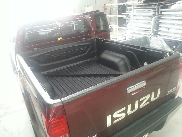 Isuzu Dmax 2012+ Space Cab Tubliner (fitted)