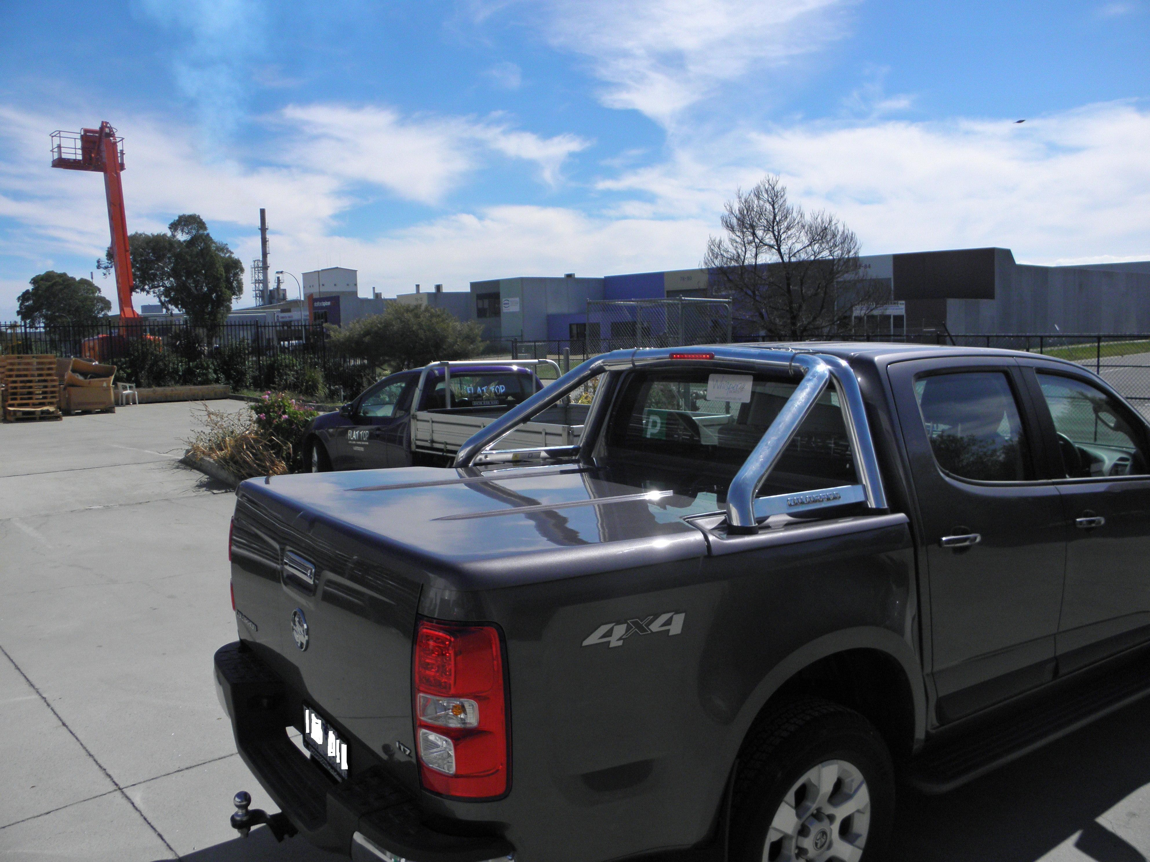 Holden+ RG Colorado Ute Lid + E* Lid - 3 pce