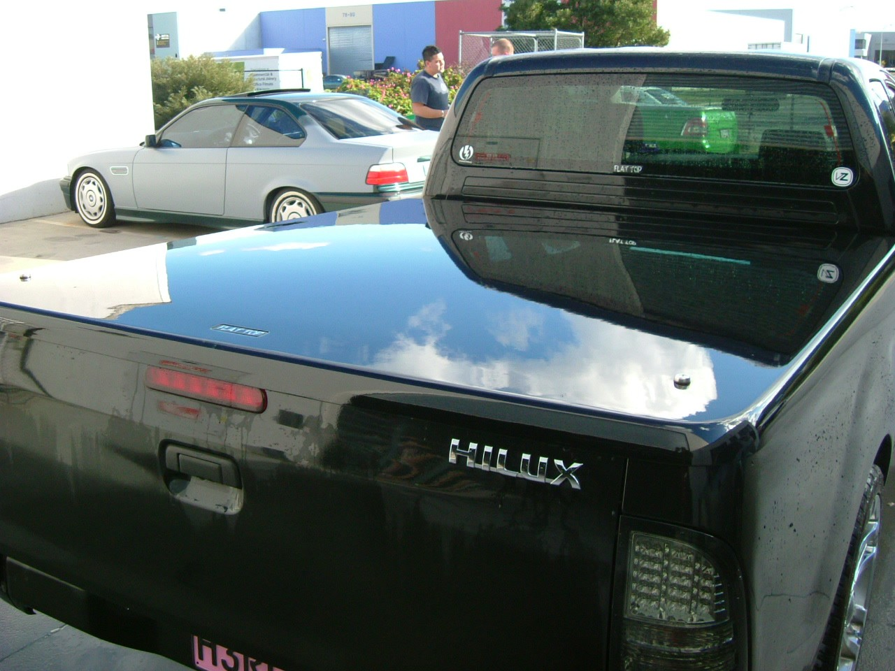 Toyota Hilux n70  + Dual Cab A Deck (No Bars) 2005- 2013 + Ute Lid +1 Pce Manual PAINTED