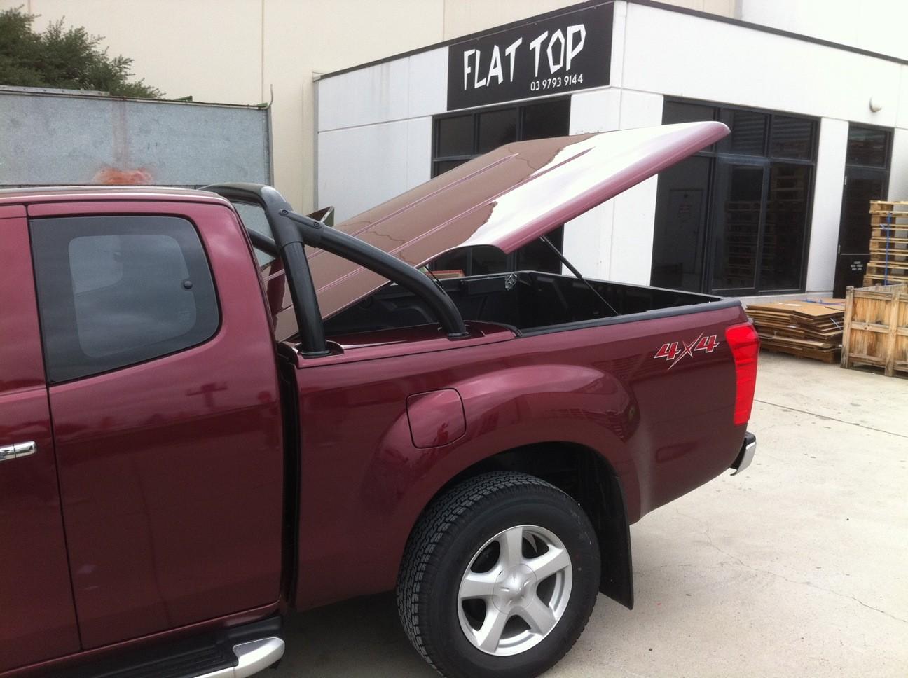 Nissan Navara D40 Sports Bars (SATIN BLACK)