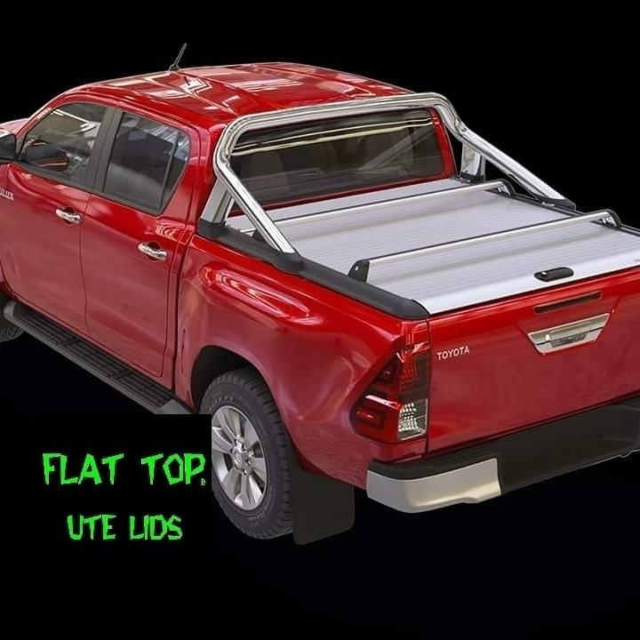 Roll Top +Dual cab Manualblack  Anodised.