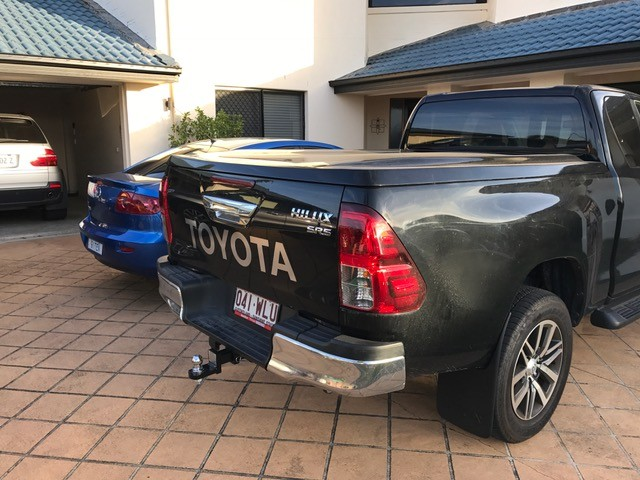 Toyota Hilux EXTRA Cab N80 _ 1 pce XP  Manual Locking