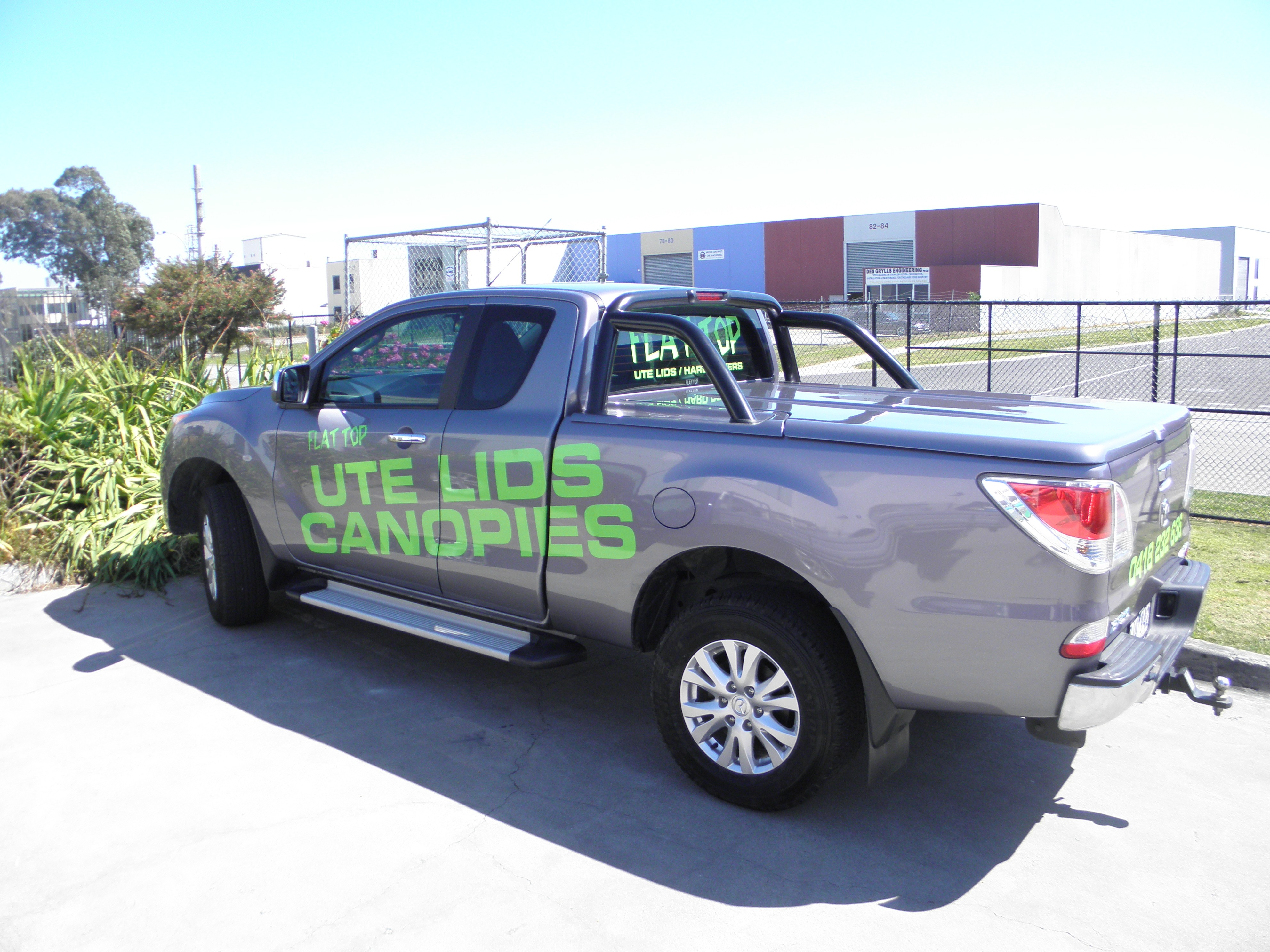 Mazda BT 50 -2011 Sports Bars ( chrome or  Satin Black look)