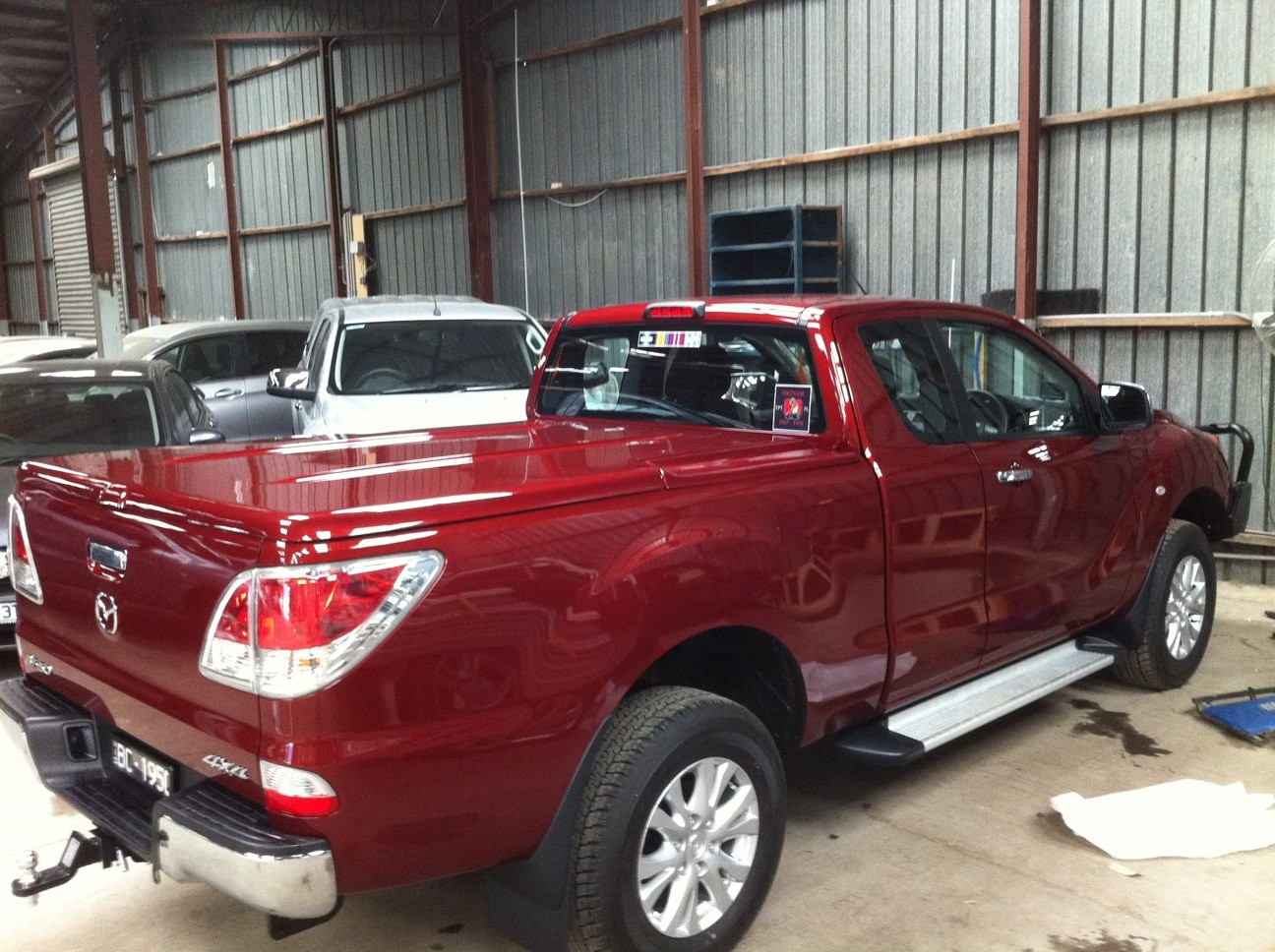 "Mazda BT 50+ FREESTYLE+NO Bars (3 IN 1) ""Manual Locking""  - 3 Pce"