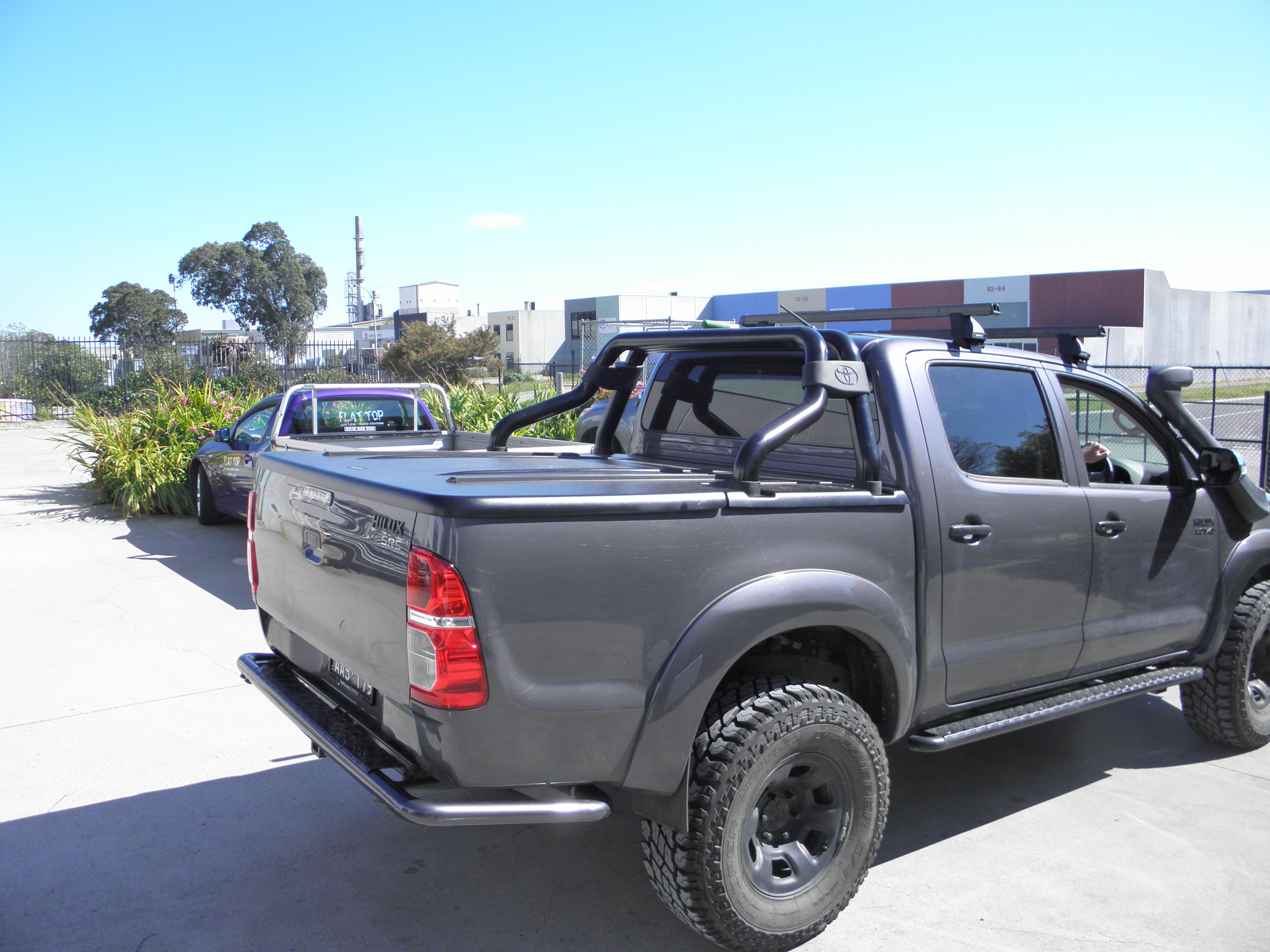 Toyota Hilux N70 2005-2014  Dual Cab XP  Hard Cover + (manual locking)