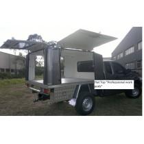 "Extra cab Canopy + Fibreglass "" Professional XL "" Heavy Duty Canopy"