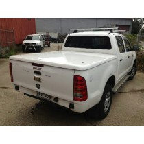 Toyota Hilux n70  + Dual Cab A Deck (No Bars) 2005- 2014+ Ute Lid +1 Pce Manual PAINTED